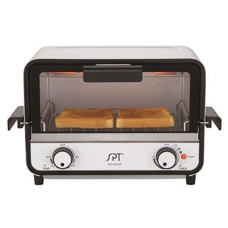 SPT SO-0972W Easy Grasp 2-Slice Countertop Toaster Oven