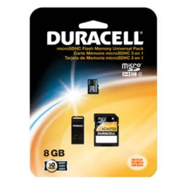 8GB Micro Secure Digital High Capacity - SDHC - Card with Adapter