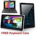 Indigi® 7inch Factory Unlocked 3G SmartPhone 2-in-1 Phablet Android 4.4 KitKat Tablet PC w/ KeyCase included - Thumbnail 0