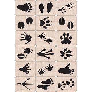 """Hero Arts Ink 'n Stamp Tub 3""""X4""""-Animal Prints - animal prints"""