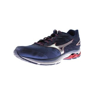 Mizuno Mens Wave Rider 20 Running Shoes Smooth Rid Lightweight - 7 wide (e)