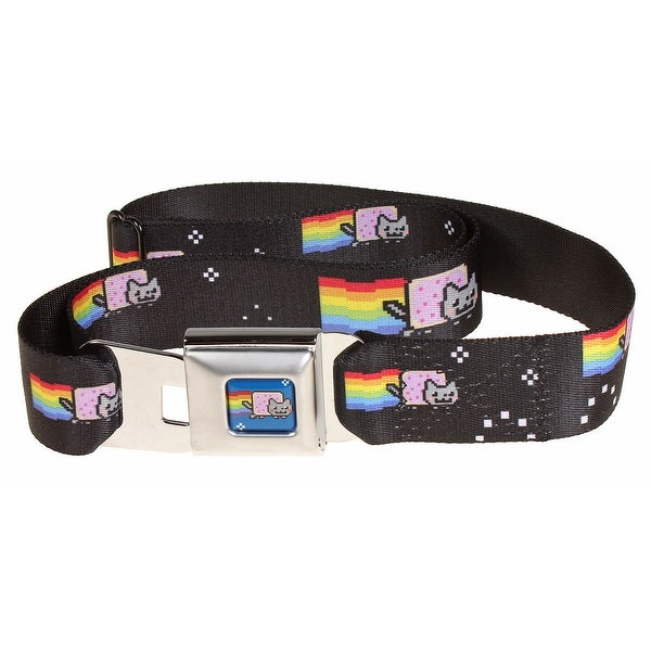 Nyan Cat Seatbelt Belt-Holds Pants Up