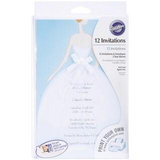Invitation Kit Makes 12-Bride - bride