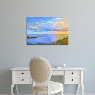 Easy Art Prints Holly Ready's 'Summer Cove' Premium Canvas Art