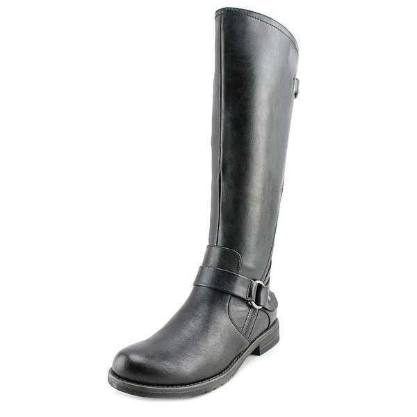 Baretraps Clare Women Round Toe Synthetic Black Knee High Boot