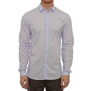 The Kooples HCC737 Long Sleeve Dress Button Down Men Regular Dress Button