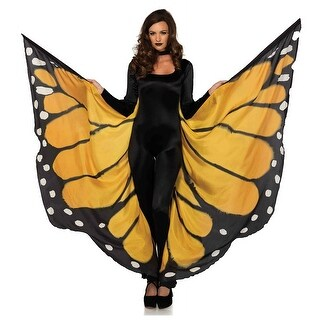 Monarch Butterfly Cape Adult Costume Accessory