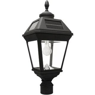Gama Sonic 97B012 (GS-97B-F) Imperial Bulb Solar Lamp with GS Solar Light Bulb, Black