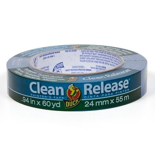 """Duck 240193 Clean Release Multiple Surfaces Painter's Tape, .94"""" x 60 yd"""