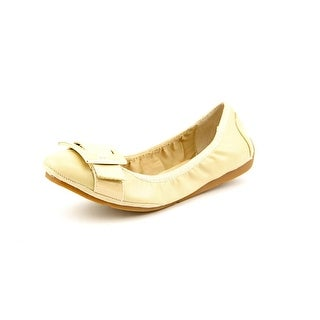 Marc Fisher Rosa Women Round Toe Synthetic Nude Flats