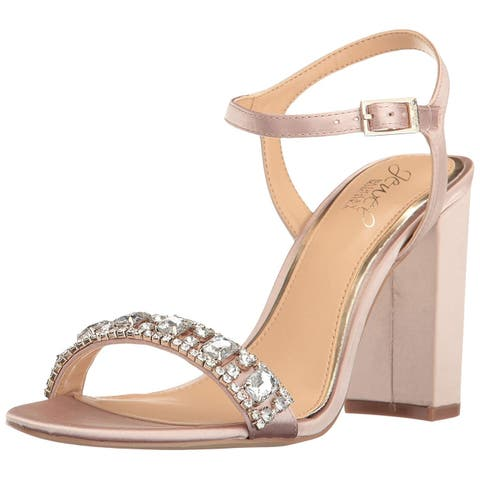 BADGLEY MISCHKA Womens Hendricks Open Toe Special Occasion Ankle Strap Sandals