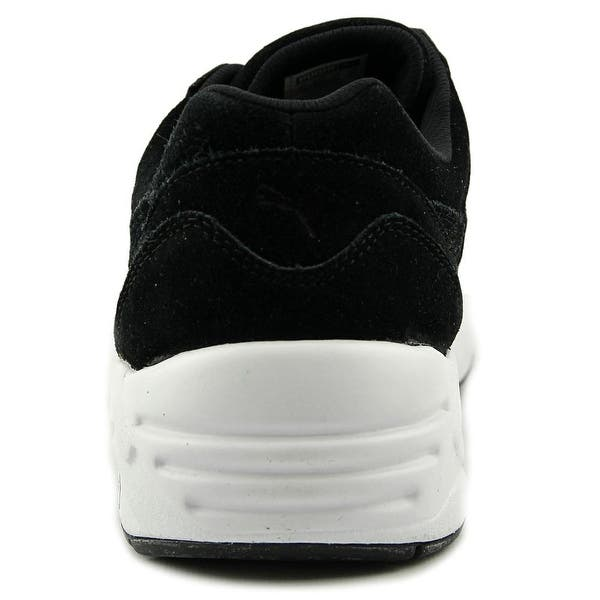 size 40 1aaa9 1158a Shop Puma R698 Allover Suede Men Round Toe Suede Black ...