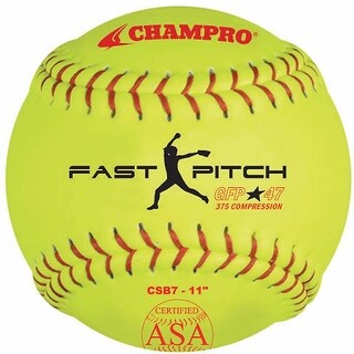 Champro Asa Game Fast Pitch Softballs 1 Dozen