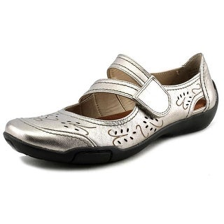 Ros Hommerson Chelsea Women SS Round Toe Leather Bronze Mary Janes