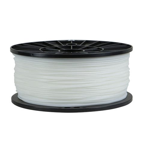 Monoprice Premium 3D Printer Filament - 1kg/Spool - White ABS, 1.75MM