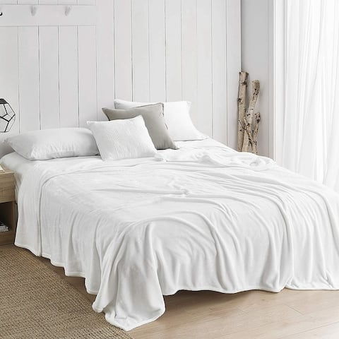 Coma Inducer Me Sooo Comfy Bedding Blanket - White