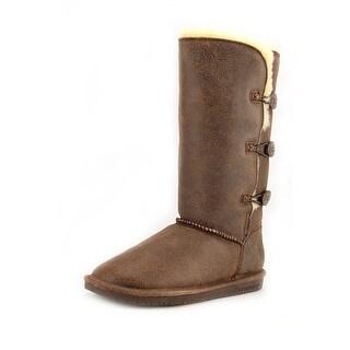 Bearpaw Lauren Round Toe Leather Winter Boot