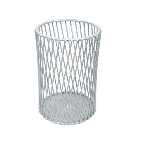 Laura Ashley Speckled Cutlery Basket in Grey