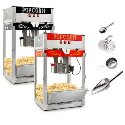 Commercial Popcorn Machine Maker Popper with Large 12-Ounce Kettle