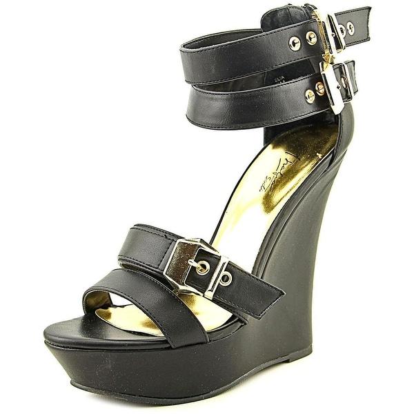 Thalia Sodi Elia  Black Sandals