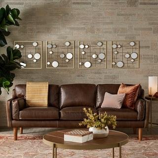 Strick & Bolton Beatnik Leather Sofa Columbus Chocolate
