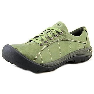 Keen Womens Presidio Leather Lace Up Casual Shoes