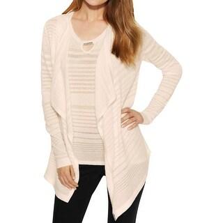 Calvin Klein Womens Cardigan Sweater Knit Open Front
