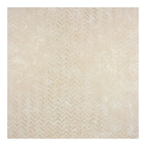 Luna Copper Distressed Chevron Wallpaper - 27.5 x 396 x 0.025