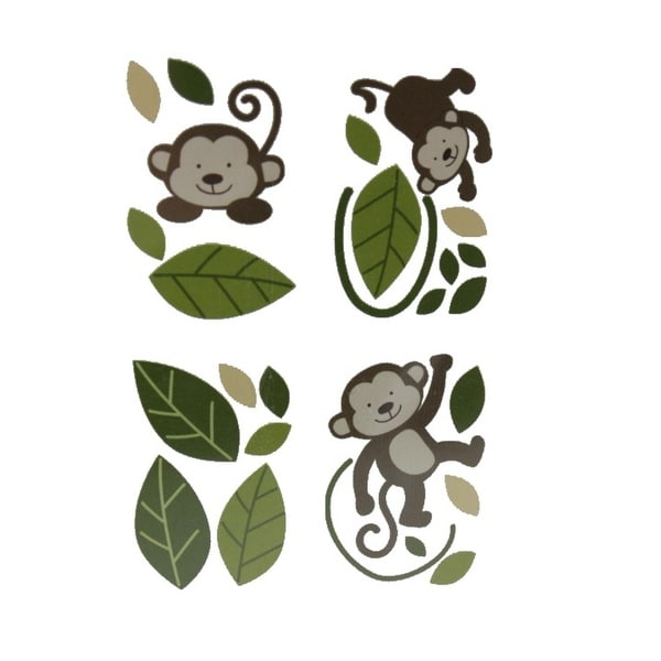 "Babies""R""Us Wall Decal Set Monkey Door/Window"