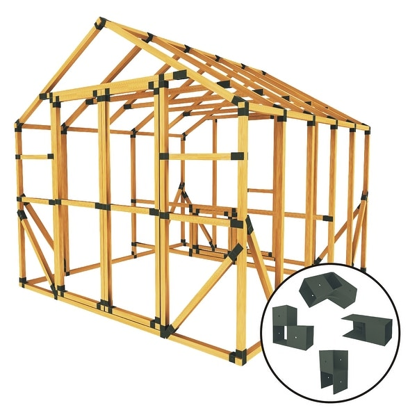 Shop Build Your Own E-Z Frame 10X10 Standard Chicken Coop