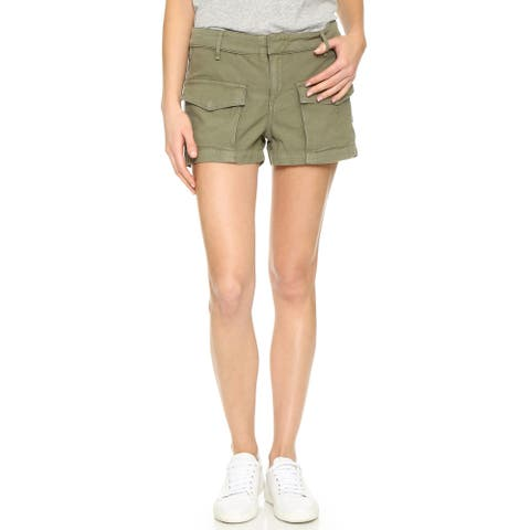 Rag and Bone Womens Army Cargo Shorts