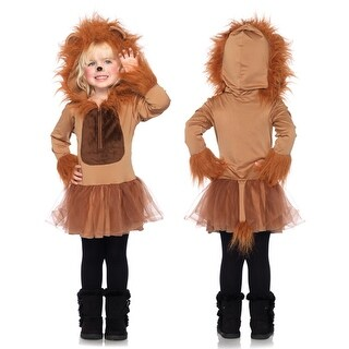 Kids Cuddly Lion Girls Halloween Costume