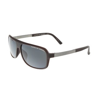 Porsche P8554-C Brown Aviator Sunglasses - 62-13-140