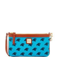 Dooney & Bourke NFL Carolina Panthers Large Slim Wristlet (Introduced by Dooney & Bourke at $88 in Aug 2016)