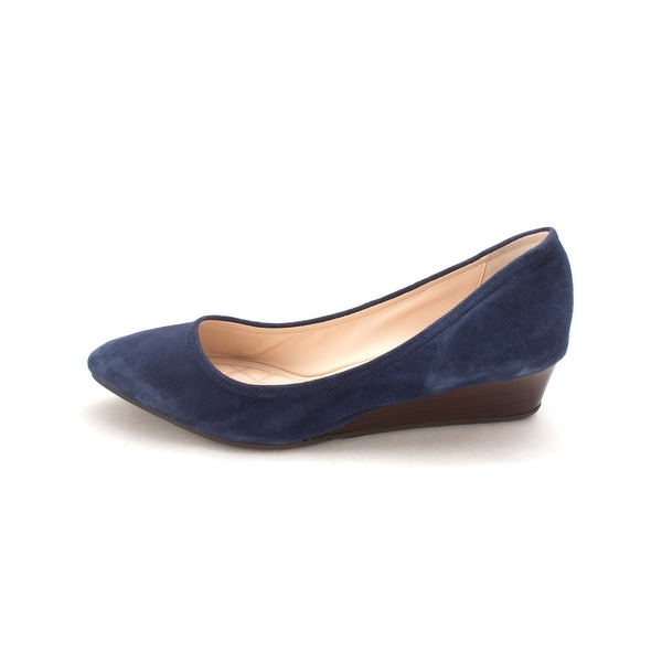 Cole Haan Womens Sarasam Closed Toe Wedge Pumps - 6