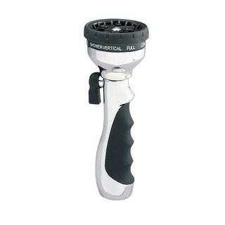 Orbit 56410N Turret Torch 10-Pattern Hose Spray Nozzle, Aluminum