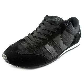 Globe Pulse Men Round Toe Suede Black Skate Shoe