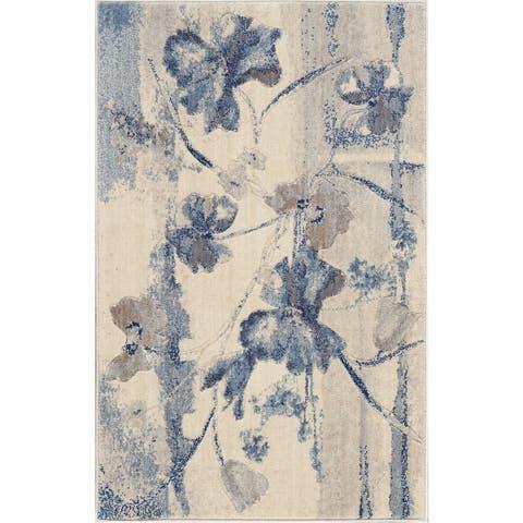 Nourison Somerset Floral Vintage Area Rug