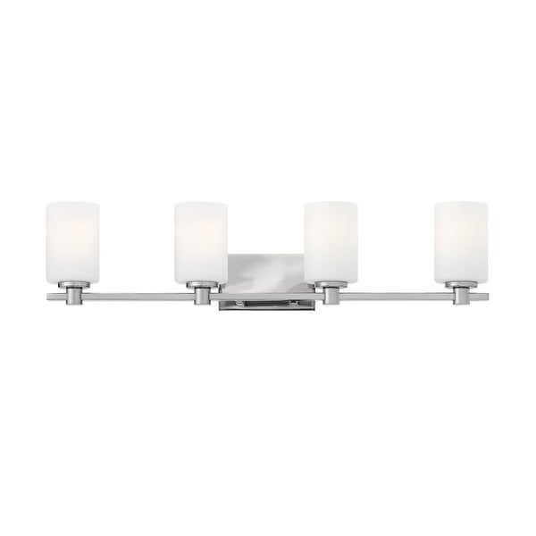 Hinkley Lighting 54624 4 Light Bathroom Fixture from the Karlie Collection