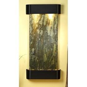 Adagio CSR1502 Cascade Springs - Green Natural Slate Wall Fountain