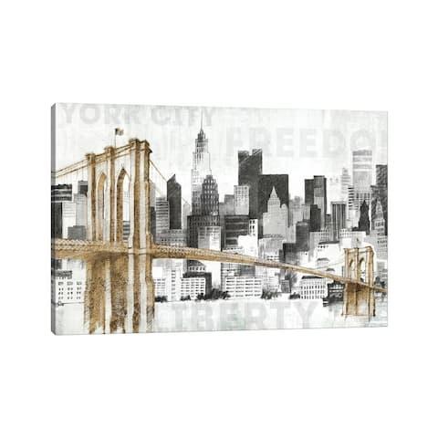 "iCanvas ""New York Skyline I"" by Avery Tillmon Canvas Print"