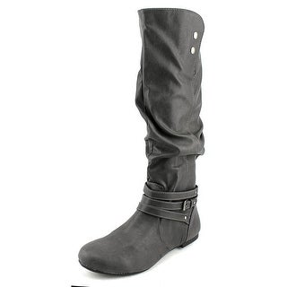 Fergalicious Lyla Round Toe Synthetic Knee High Boot