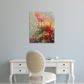 Easy Art Prints Beth A. Forst's 'Hannah's Cherry Bomb' Premium Canvas Art
