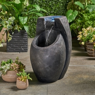 Link to Zen Fountain by Christopher Knight Home Similar Items in Outdoor Decor