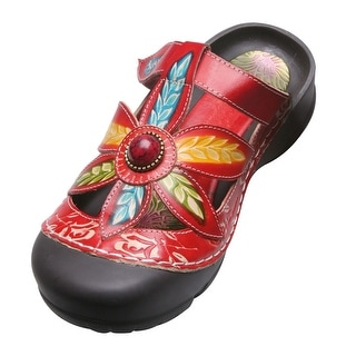 Women's Slide Sandals - Coastal Closed Toe Clog Sandals