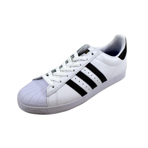 6d9614a7d5cd Shop Adidas Men s Superstar Vulc ADV White Black-White D68718 - Free ...