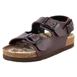 Rugged Bear RB1415 Toddler Open-Toe Synthetic Brown Sport Sandal