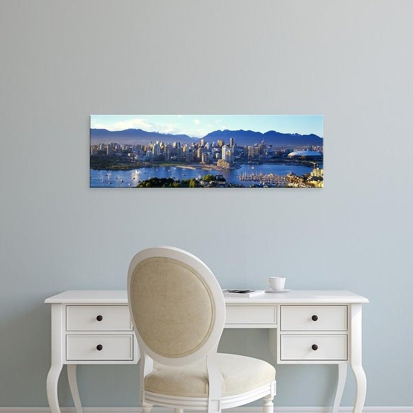 Easy Art Prints Panoramic Images S False Creek Vancouver Lower Mainland British Columbia Canada Canvas On Free Shipping Orders