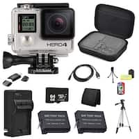 GoPro HERO4 Black Edition Camera 64GB Bundle