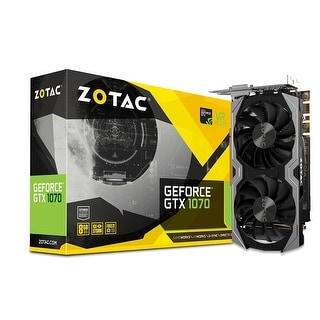 Zotac Geforce Gtx 1070 Mini 8Gb Gddr5 Vr Ready Super Compact Graphics Card (Zt-P10700g-10M)